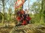 Schip timmeren 18-04-2009