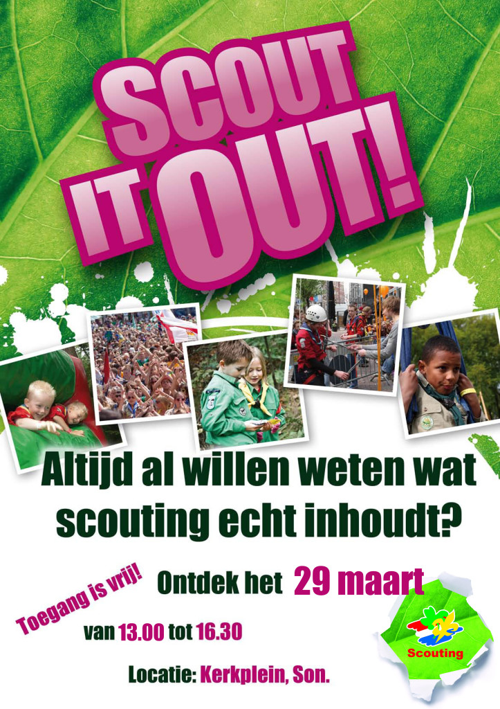 Scout it out 2014 A3 poster