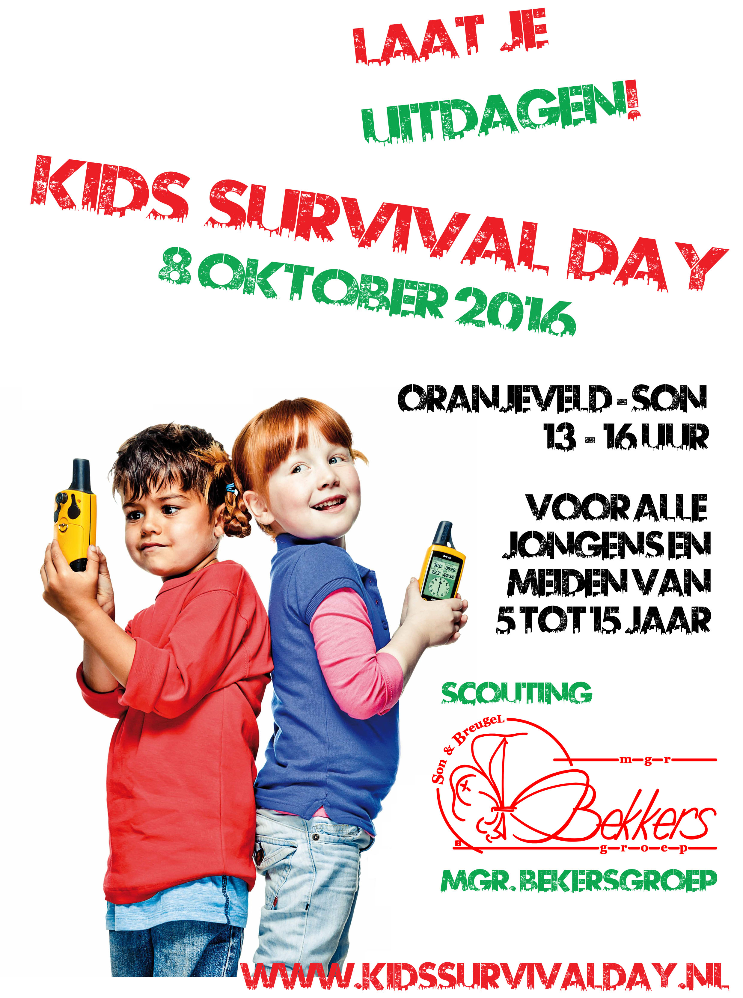 Flyer Kids Survival Day 26-9-2015