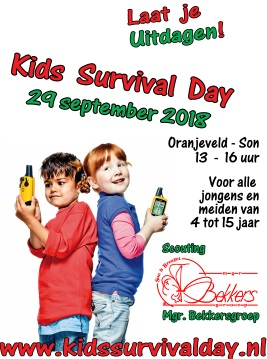 Flyer Kids Survival Day